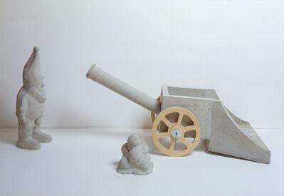 Martin Kippenberger, 'Untitled (Zwerg vor Kanone)', 1996