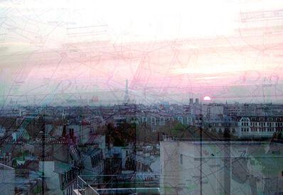 Davide Bramante, 'My own rave. Parigi (Tramonto + Dior)'