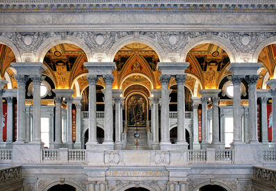 Andrew Prokos, 'Library of Congress Great Hall Interior #1', 2010