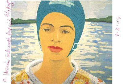 Alex Katz, 'Ada with Bathing Cap (Hand signed)', 2004