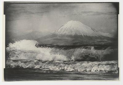 Gen Otsuka 大束 元, 'Mt. Fuji Above Waves', 1949