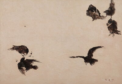 Kang Yobae, 'Birds on Snow', 2010