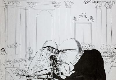 Ralph Steadman, 'Defendant', 1972