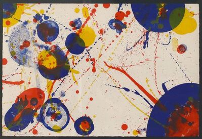 Sam Francis, 'AN 8-7 (From the Pasadena Box)', 1963