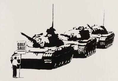 Banksy, 'Golf Sale (Signed Screen Print)', 2003