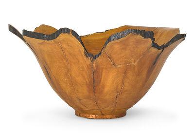 Stuart Mortimer, 'Massive turned wood bowl', 1997
