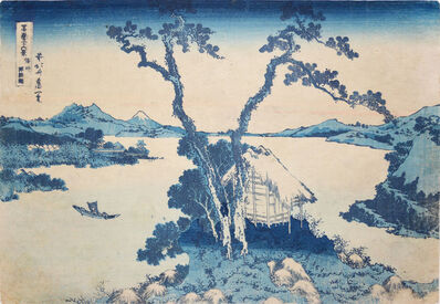 Katsushika Hokusai, 'Lake Suwa', 1832