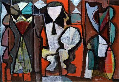 William Baziotes, 'The Thinker', 1943-1944