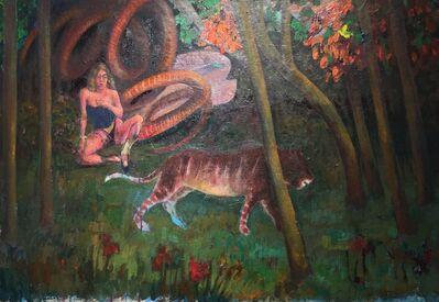 Asad Azi, 'A Tiger ', 2015