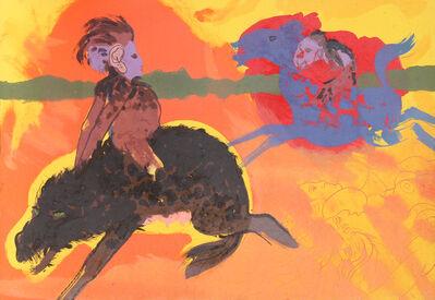 Robert Beauchamp, 'Riders', ca. 1980