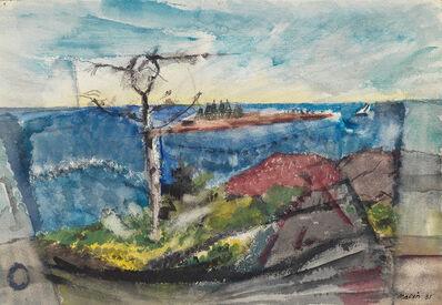 John Marin (1870-1953), 'Vicinity of Small Point, Maine', 1931