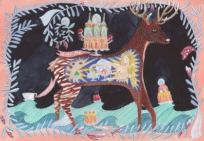 Dana Sherwood, 'Inside the Belly of an Okapi', 2021