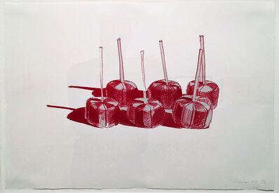 Wayne Thiebaud, 'Suckers, State II', 1968