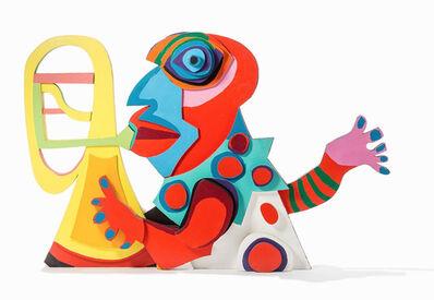 Karel Appel, 'Amsterdam Clown', 1977-1978