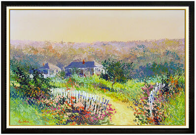Kerry Hallam, 'Kerry Hallam Original Oil Painting on Canvas Large Landscape Signed Framed Art', 20th Century