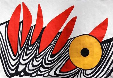 Alexander Calder, '6 Dents Rouge', 1975