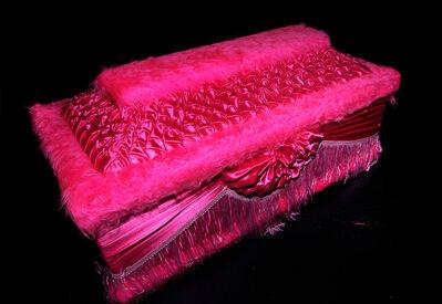 Jesús León, 'Pink Casket', 2008