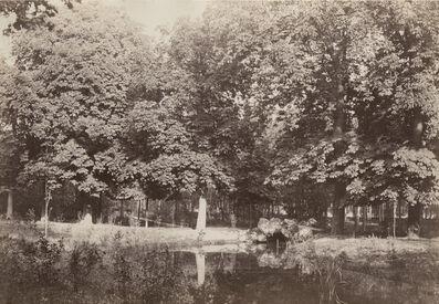 Charles Marville, 'Pont de Rochers, Bois de Boulogne', 1858/1858