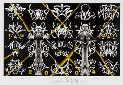 Gilbert and George, 'Tag Day', 2010