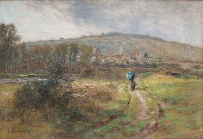 Léon Augustin Lhermitte, 'Chemin face à Chartèves', 1913