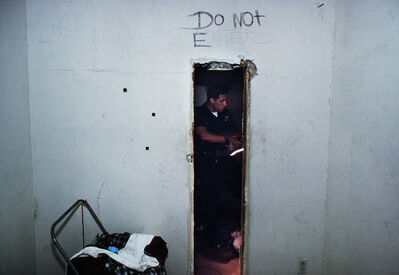 Joseph Rodriguez, 'Pacific Division officers on patrol in Venice Beach inspect an abandoned house looking for squatters and drugs, LAPD 1994', 1994