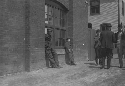 Lewis Wickes Hine, 'Queen City Mill, Burlington, Vermont', 1909