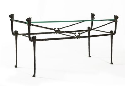 Diego Giacometti, 'Table berceau, modèle aux chats', ca. 1970