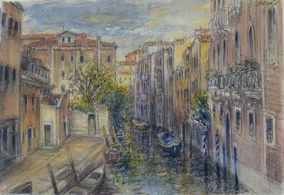 Bruno Zupan, 'Interior Canal, Venice', 2018