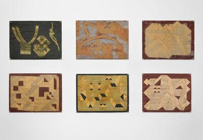 Steve Foust, 'Folded Tape Releifs', 1987