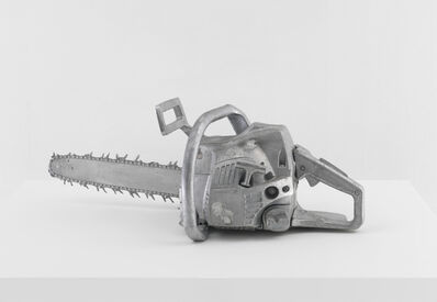 Monica Bonvicini, 'Alu Chainsaw 1', 2012