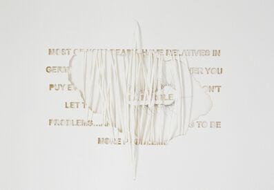 Safaa Erruas, 'La parole', 2018