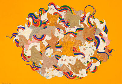 Pema Rinzin, 'Peace and Energy (Yellow)', 2010