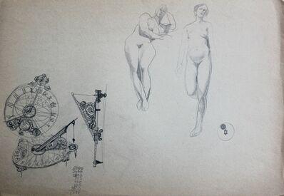 Franciszek Starowieyski, 'Nudes', ca. 1990