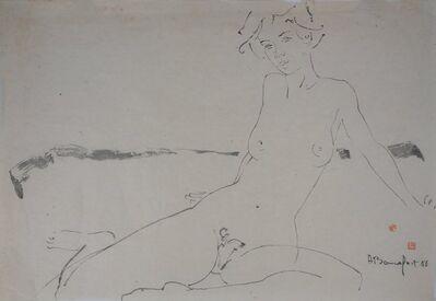 Alain Bonnefoit, 'Nu sur le tapis', 20th  Century