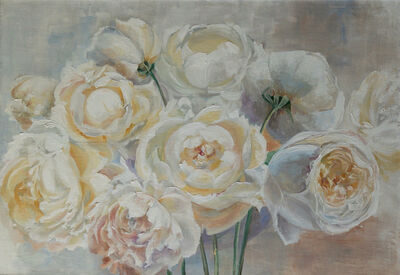 Eve Letizia, 'Bunch of peonies'