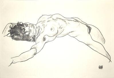 Egon Schiele, 'Lying Female Nude', 1920