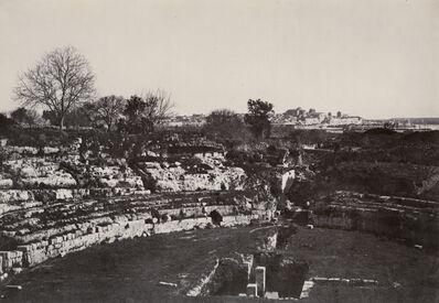 Paul Marcellin Berthier, 'Amphitheater of Syracuse (Sicily, Italy)', 1865/1865c