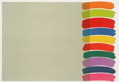 Sir Terry Frost, 'Artist's Proof: Stacked on the Side ', 1970