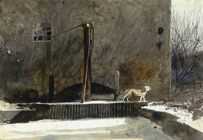 Andrew Wyeth, 'Frozen Race', 1969