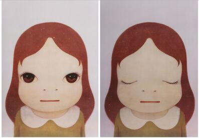 Yoshitomo Nara, 'Cosmic Gil ( Eyes Open, Eyes Shut) ', 2008