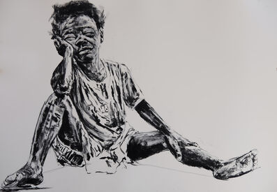 Nelson Makamo, 'Poise', 2017
