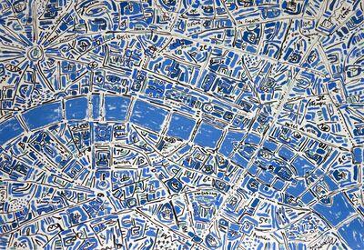Barbara Macfarlane, 'Paris Cobalt Blue', 2017