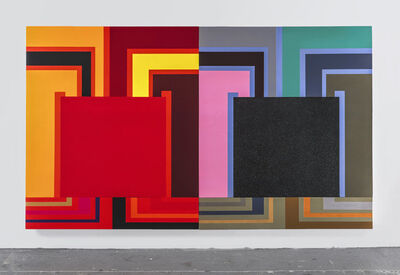 Peter Halley, 'Whatever it takes', 2003