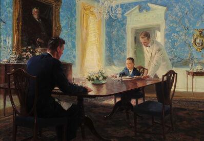 Tom Lovell, 'The Dining Room', 1955
