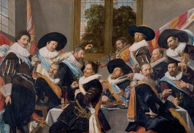 Frans Hals, 'Officers of the Haarlem Militia Company of Saint Adrian', ca. 1627