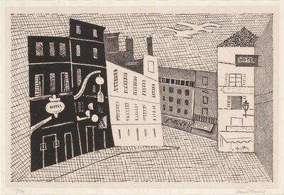 Stuart Davis, 'Rue De L'Echaudé (C./M. 12)', 1929