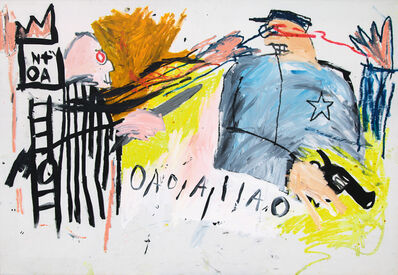 Jean-Michel Basquiat, 'Untitled (Sheriff)', 1981