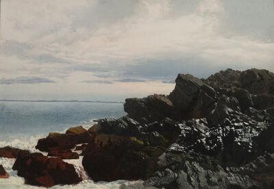 William Bradford, 'Rocky Shore ', 19th century