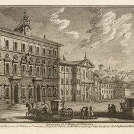 Giuseppe Vasi, 'Seminario di S. Pietro in Vaticano', 1747-1801