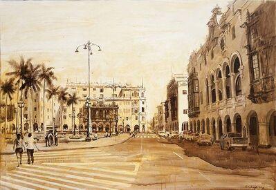Luis Enrique Camejo, 'Lima. De la serie ciudades', 2015